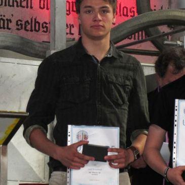 Auszeichnungen für WSV-Atlethen Andi Weishäupl und Severin Freund