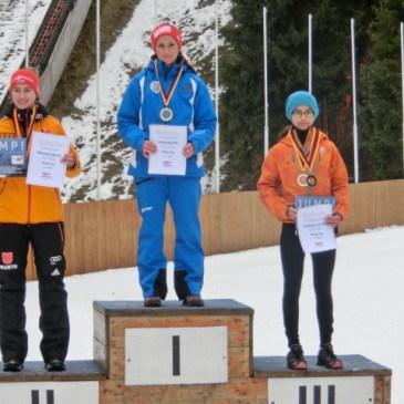 Deutschlandpokal Oberwiesenthal – Nicole Hauer und Simon Gillhofer überzeugen erneut!