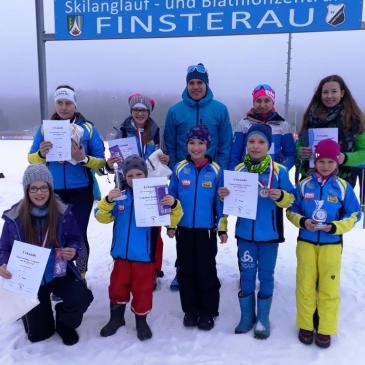 Rastbüchler Langläufer erneut in Finsterau erfolgreich