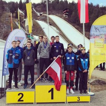 Team-Silber bei OPA Spielen in Villach
