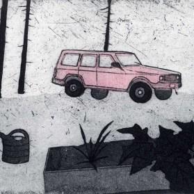 Broke Down Jeep, Karinna Gomez