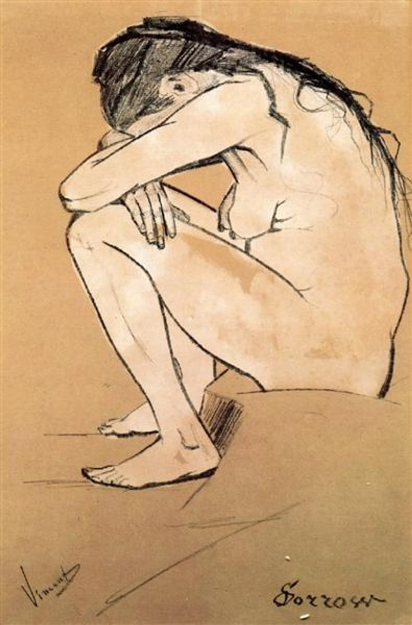 Sorrow [Sien Hoornik], Vincent van Gogh
