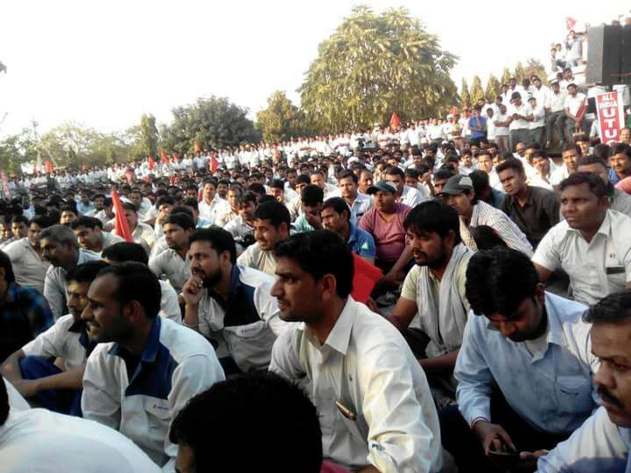 The Manesar rally