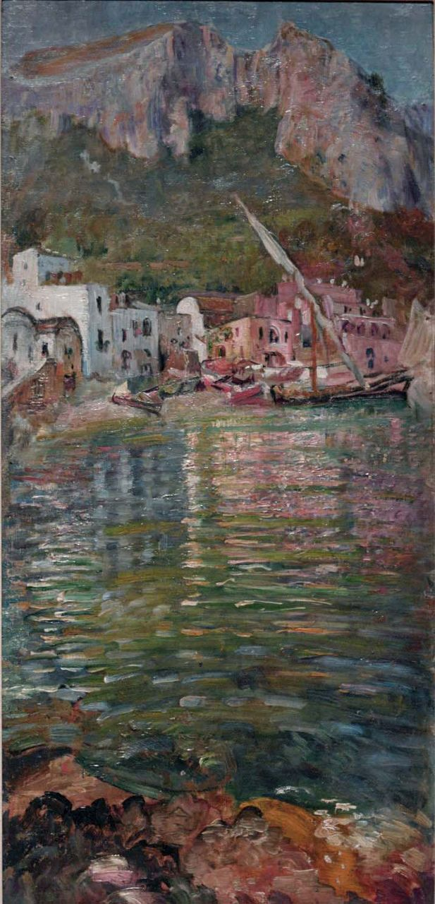 Capri c.1900s, courtesy of Private Collection on loan to Manchester Art Gallery