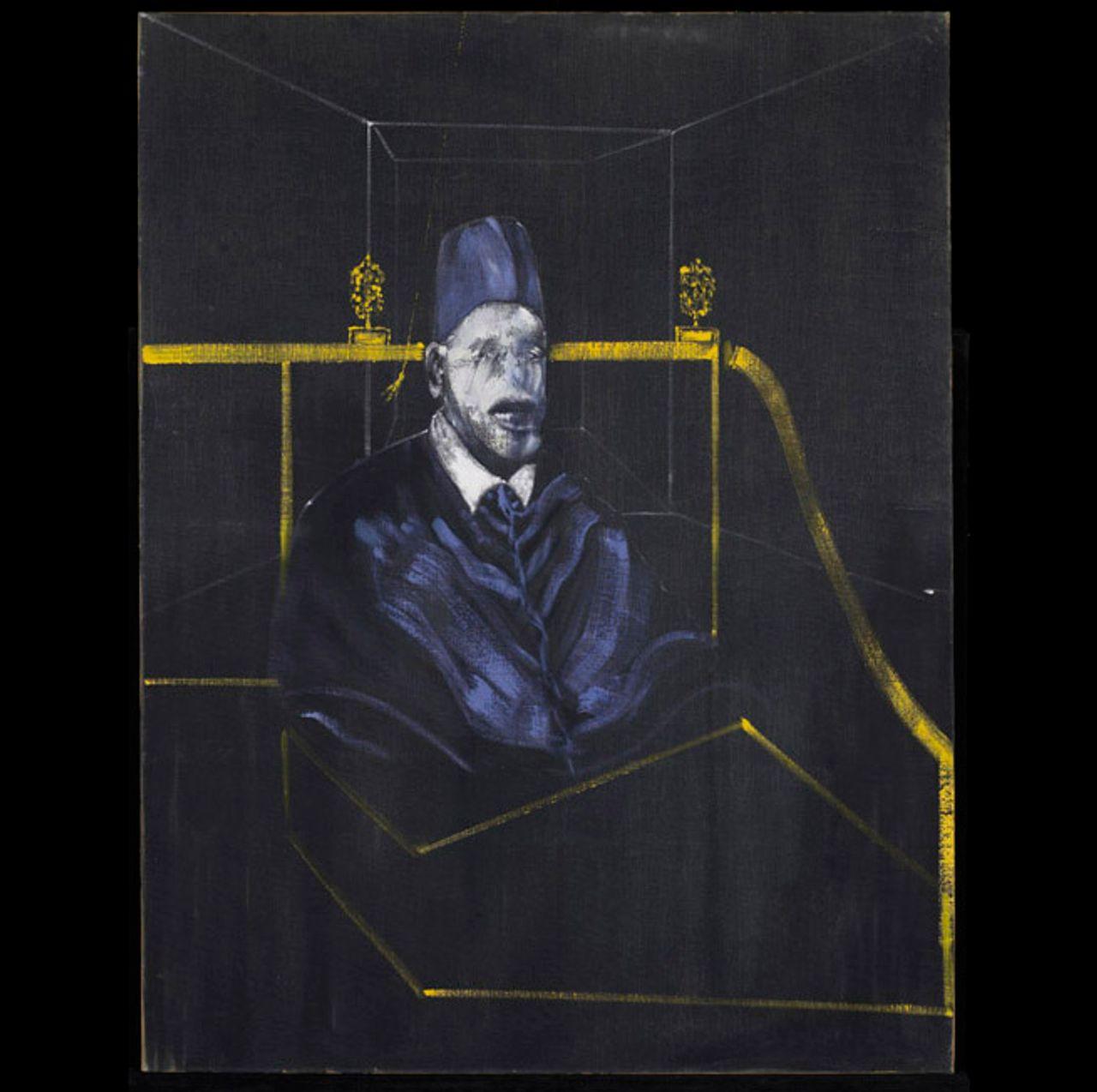 Francis Bacon, Study for Portrait VI (1953) © Estate of Francis Bacon / SODRAC (2013)