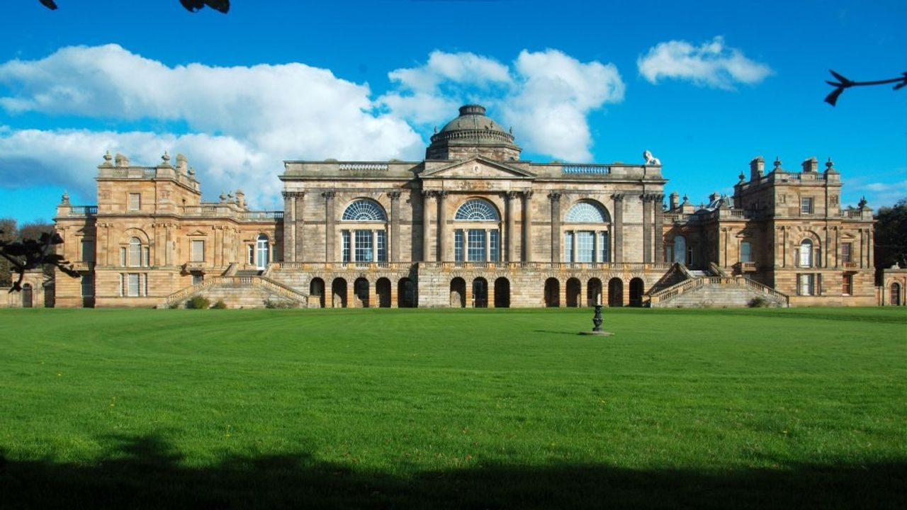 Gosford House near Longniddry in East Lothian that is owned by Rock Feilding-Mellen's family