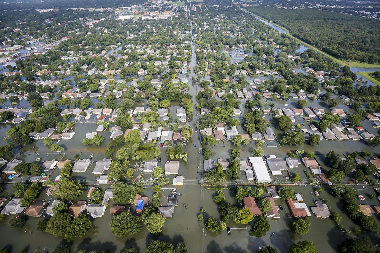 Flooding in Houston, USA. Photo Credit: Air National Guard photo by Staff Sgt. Daniel J. Martinez