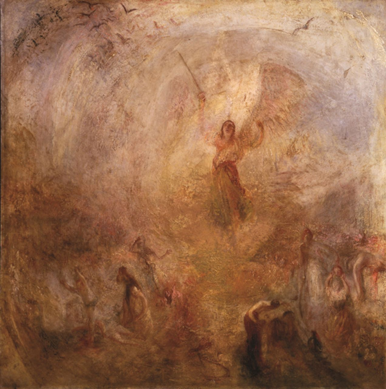 The Angel Standing in the Sun (1846)