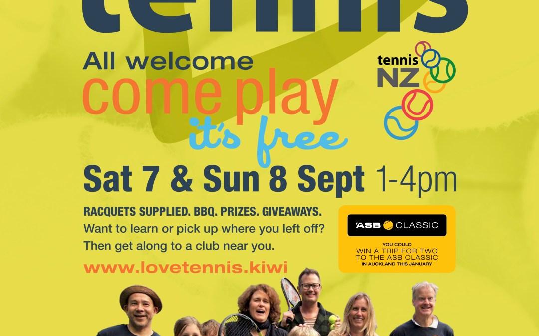 Do you Love Tennis?