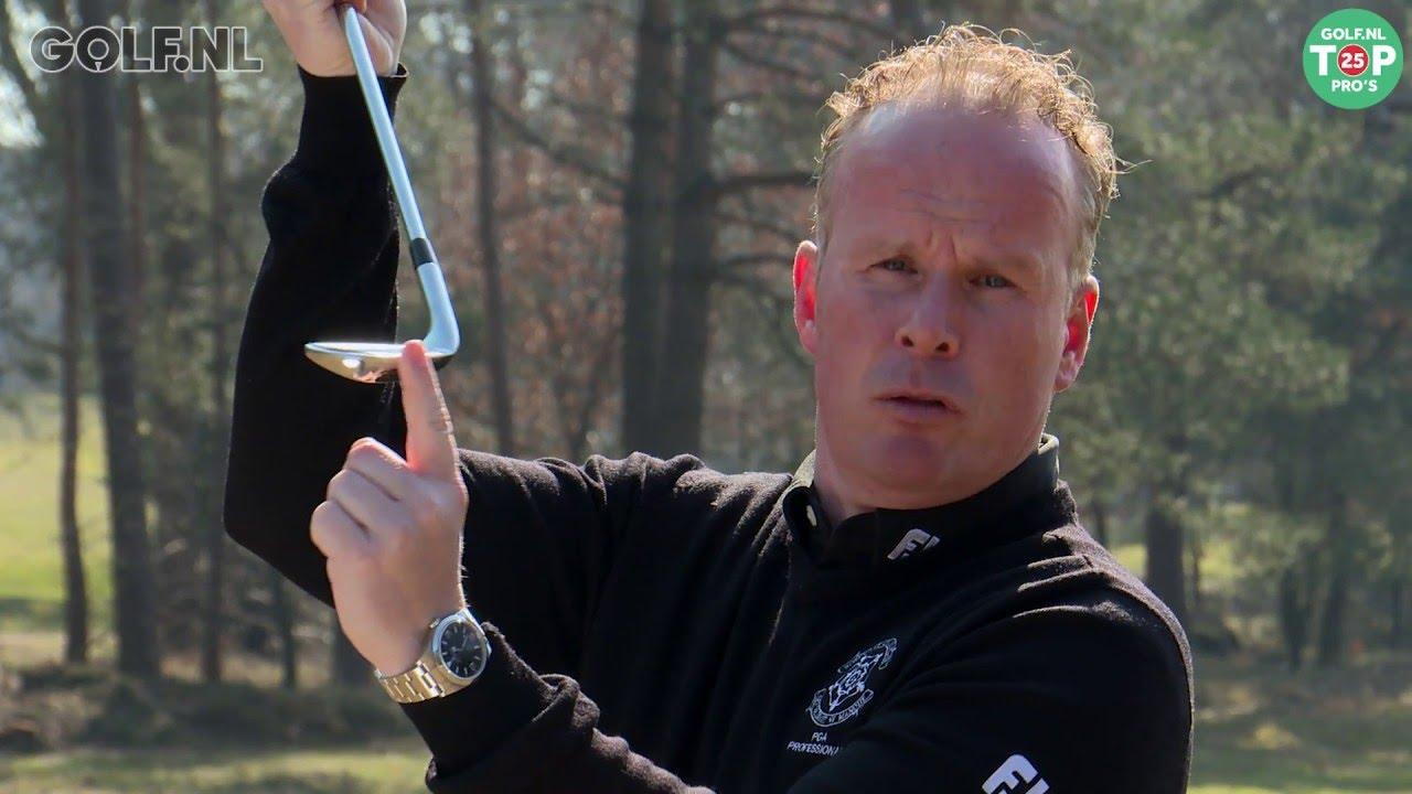 Golf tip: oefening met smartphone