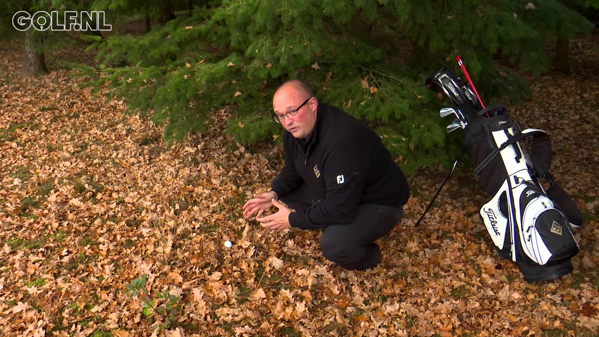 Golf tip: uit de blaadjes!