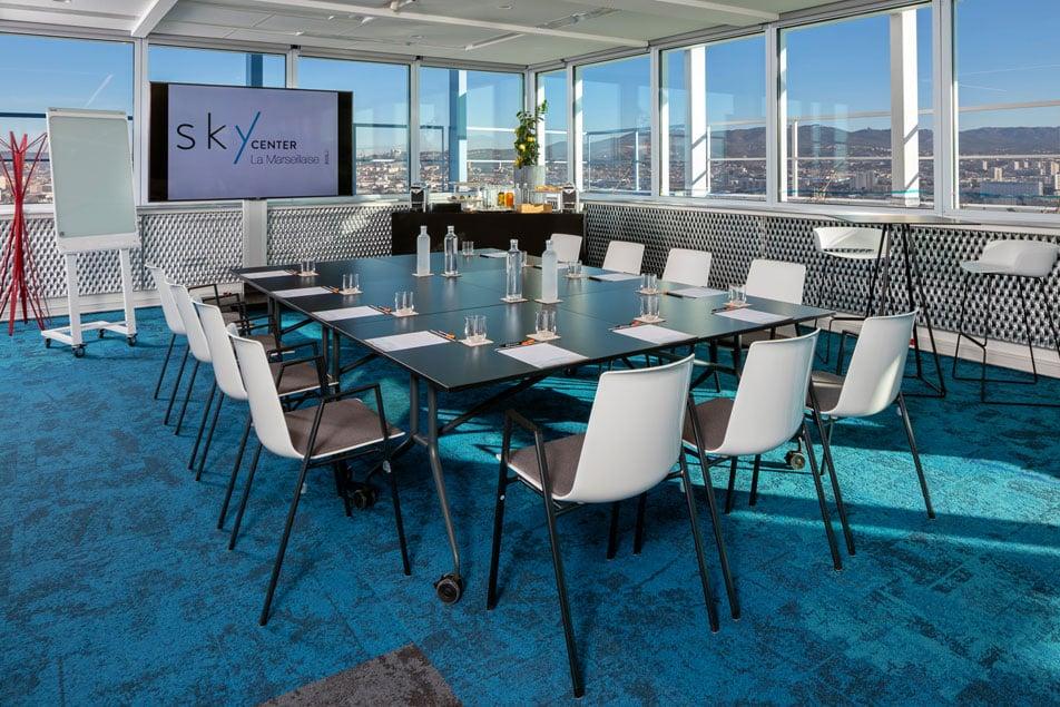 Louez une salle pour votre séminaire d'entreprise à marseille Tour La Marseillaise | Sky Center - World Trade Center Marseille