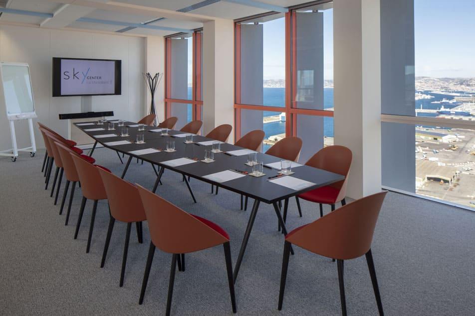 Louez une salle de formation à Marseille | Sky Center - World Trade Center Marseille