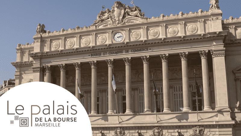 Palais de la Bourse à Marseille