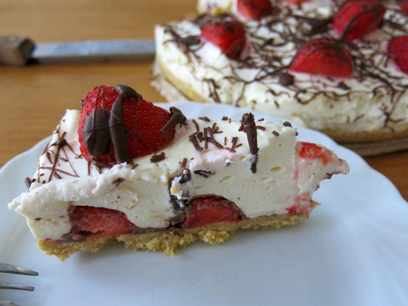 Philadelphia-Torte-Erdbeeren-Schokolade-13