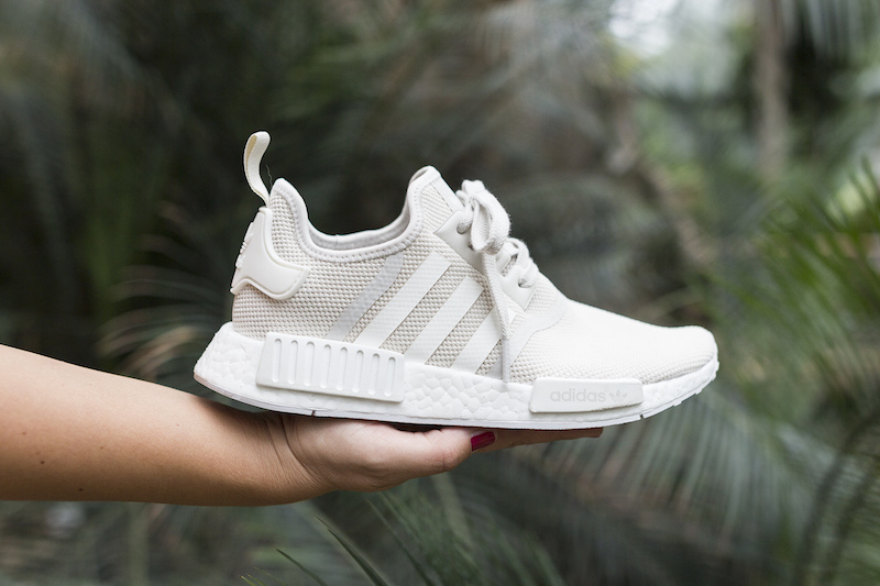 NMD R1 Off-White on feet