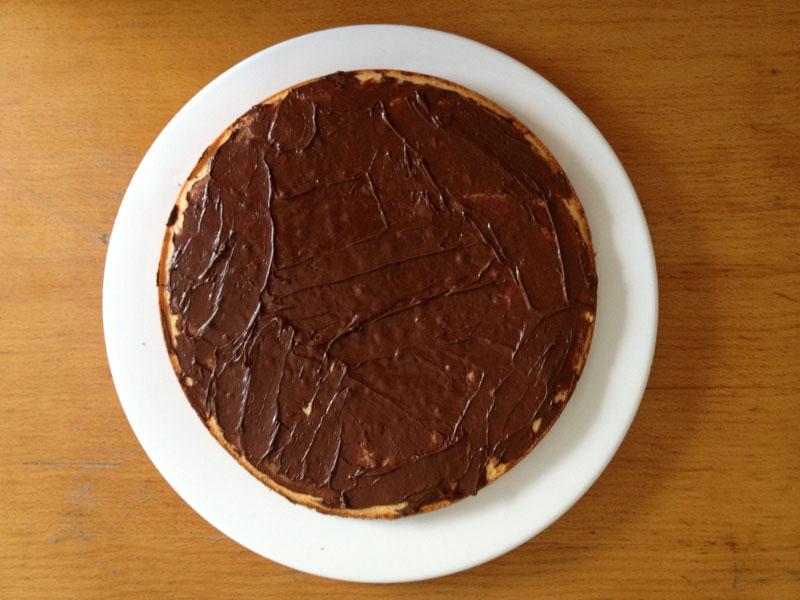 Kuchen mit nutella und mascarpone