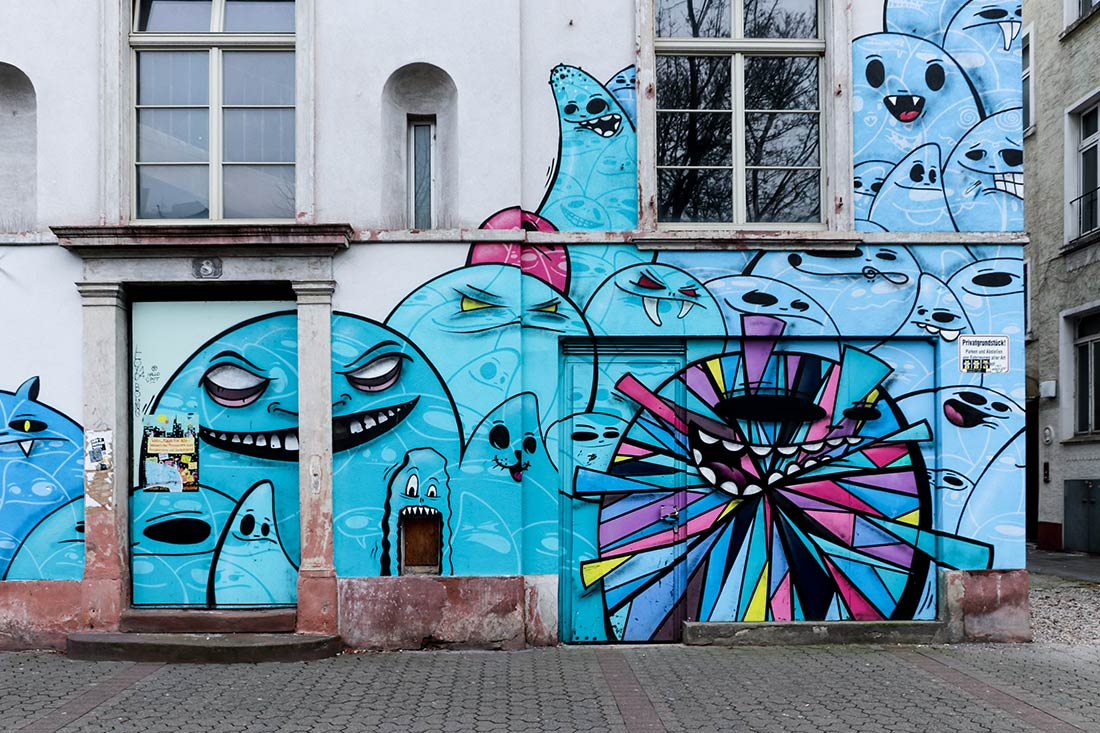 City Ghost. Street Art Frankfurt.