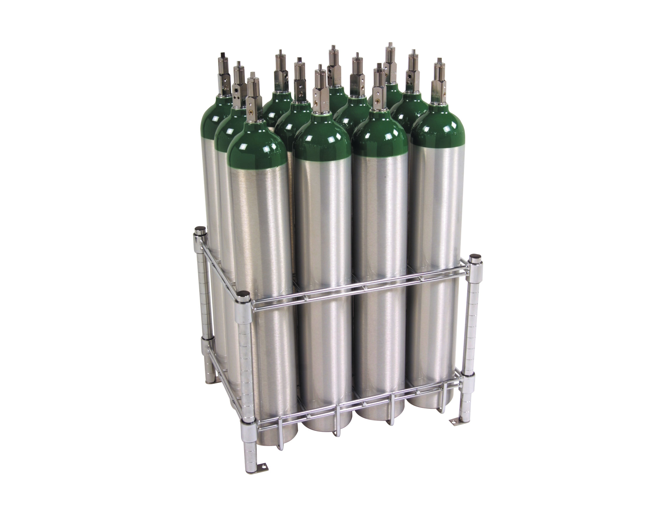 12 e oxygen cylinder rack from wt farley