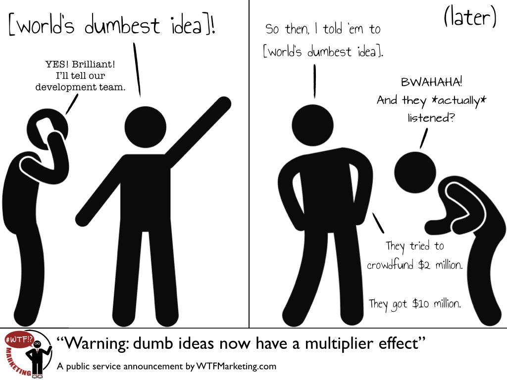 Dumb Idea Multiplier