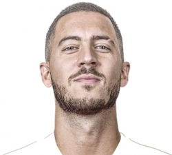 Picture of the 1.73 m (5 ft 8 in) tall Belgian left winger of Real Madrid