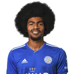 Picture of the 1.78 m (5 ft 10 in) tall English defensive midfielder of Leicester City