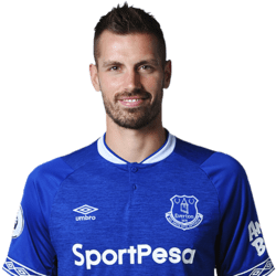 Picture of the 1.85 m (6 ft 1 in) tall French defensive midfielder of Everton