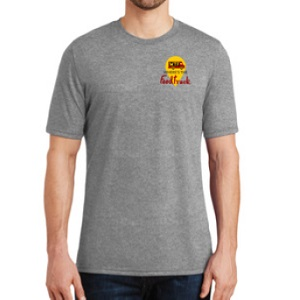 mens grey tshirt front