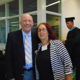 Bob Cox and Joanne Kline Hulme