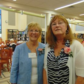 Kay Wynne Stock and Karen Richards Tomlin