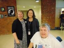 Susan Urbanek, Linda Bielawski and Phyllis Evans