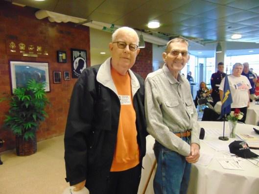 Charles Roessler and John Heitzenrater