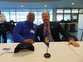 Guest Speaker William Blackman and Dr. David Baugh