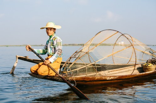 Fisherman, Inle Lake