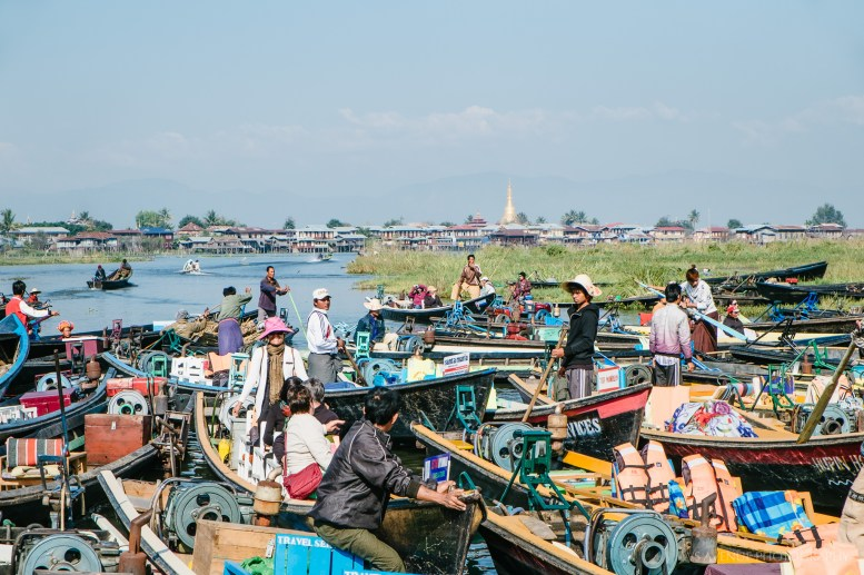 Market at Inle Lake