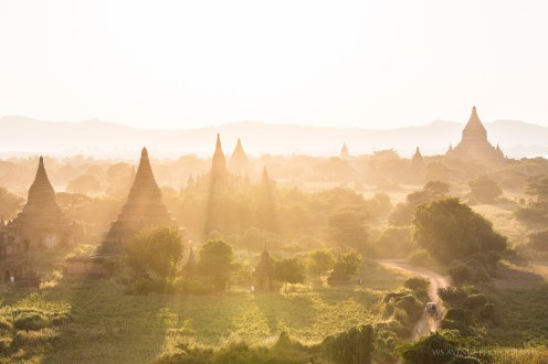 Sunset at Bagan