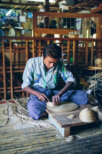 Lacquerware factory, Bagan