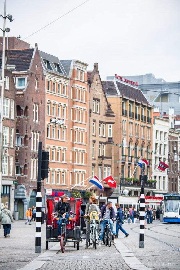 Traffic stop, Amsterdam