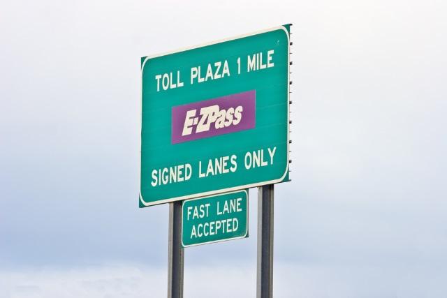 Tolls EZ Pass generic shutterstock_222299