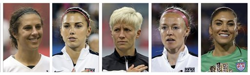 US Womn Equal Pay Soccer_264594