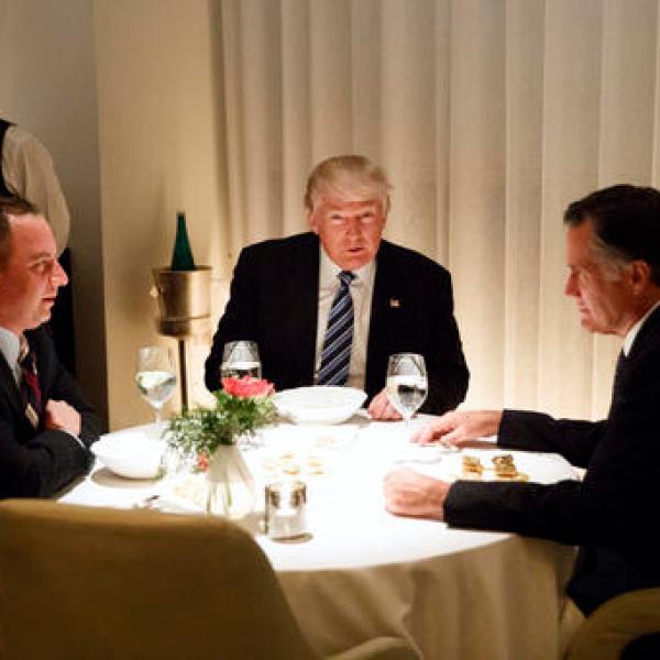 Donald Trump, Mitt Romney, Reince Priebus_362643