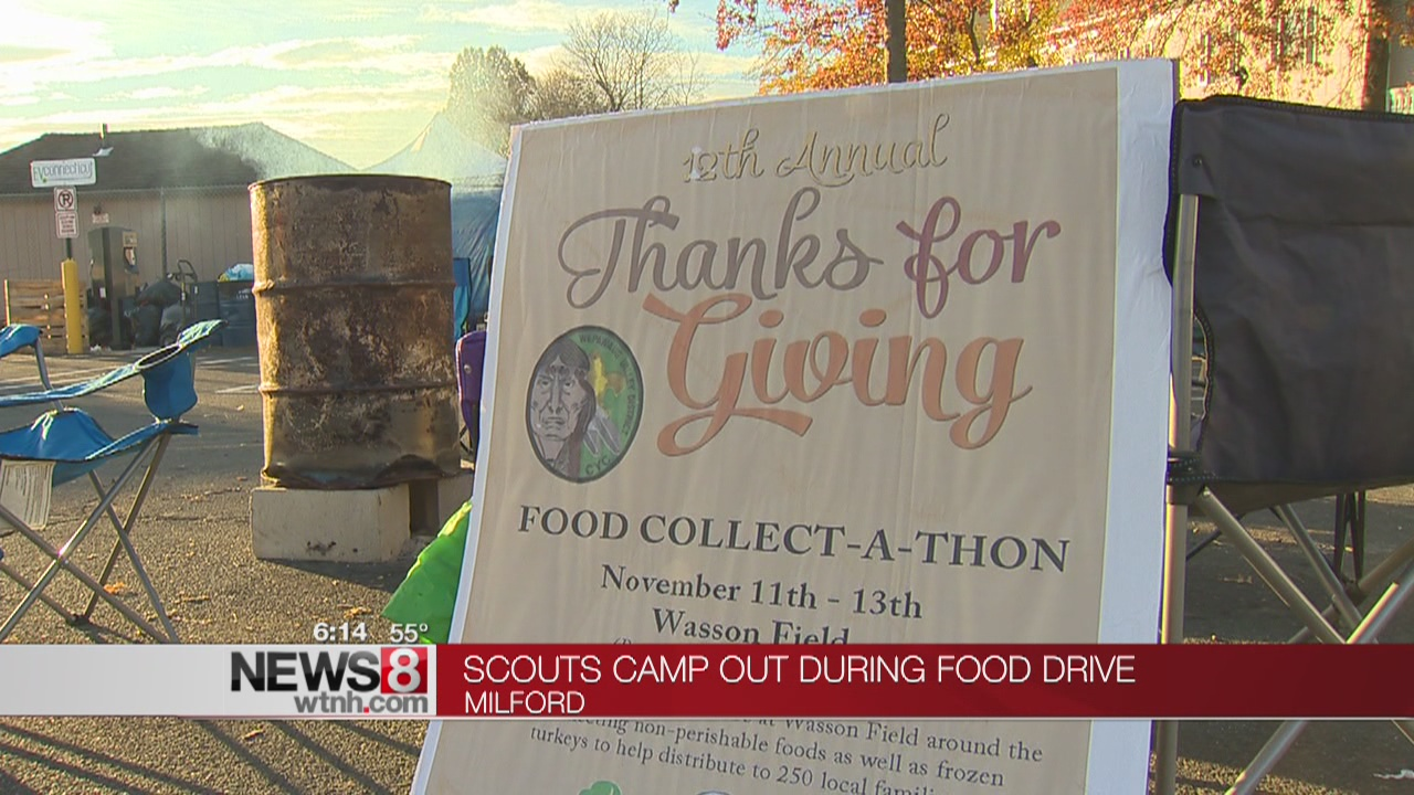 Boy and Girl Scouts camp out in Milford for a good cause
