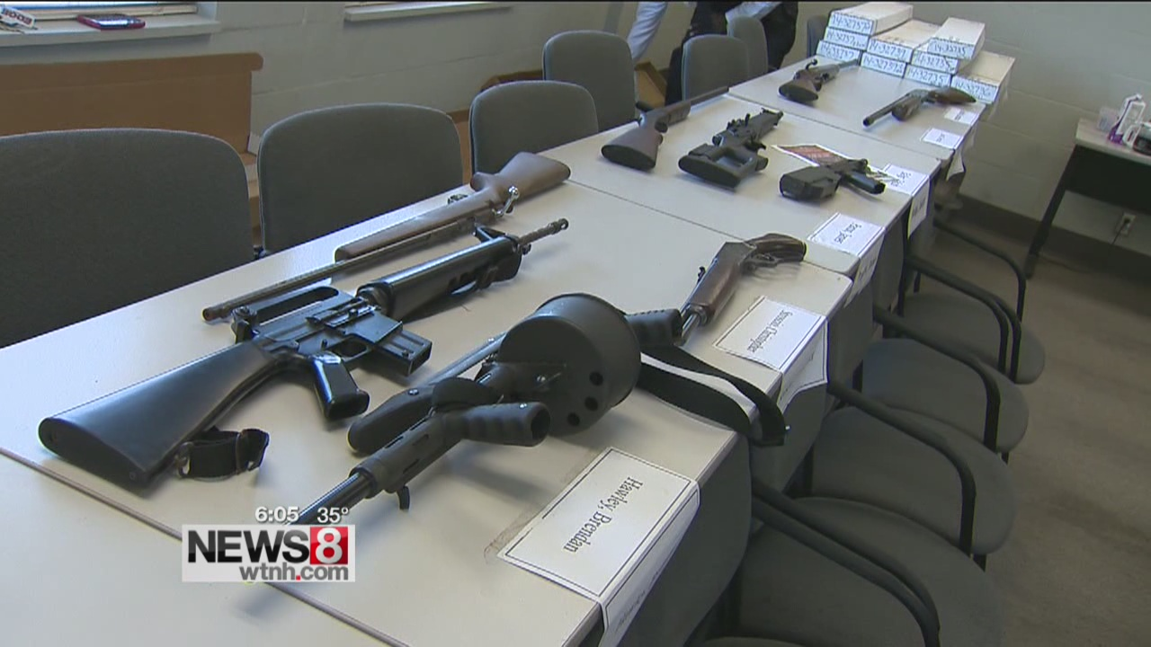 No Questions Asked for New Haven gun buy back program