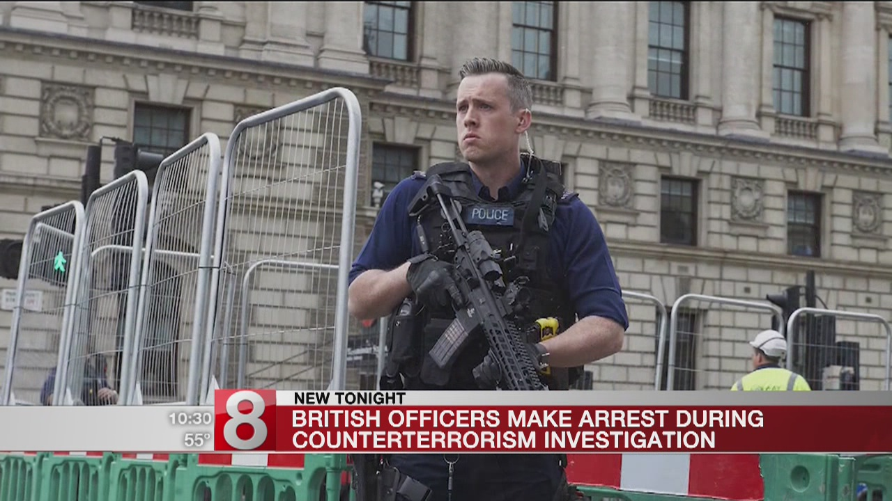 Man armed with knives arrested in London on terror charges
