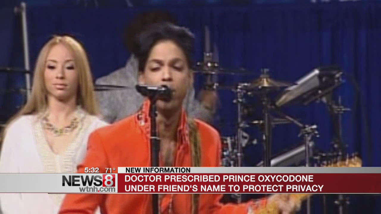 Affidavit: Doc prescribed Prince meds under friend's name