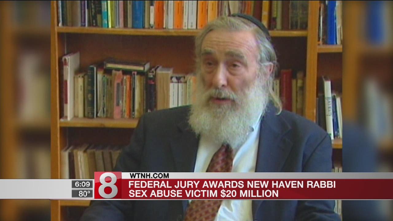 Federal jury awards New Haven rabbi sex abuse victim $20 million