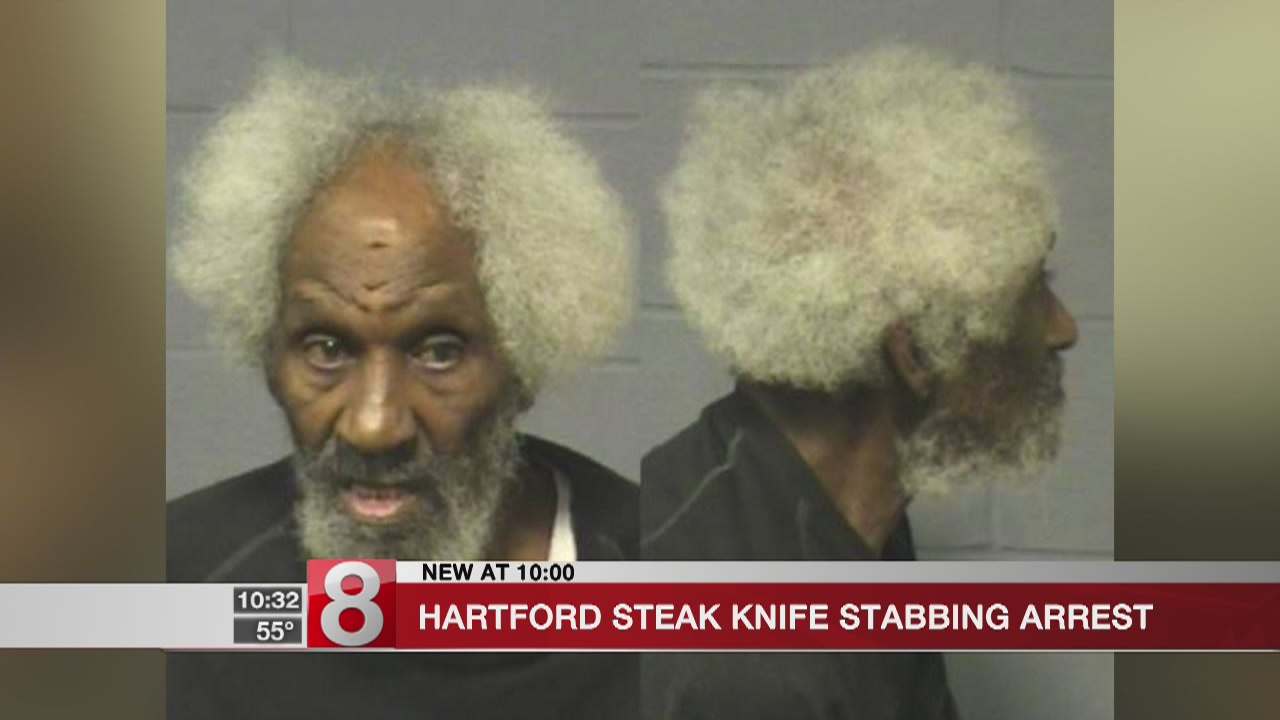 Hartford steak knife stabbing arrest