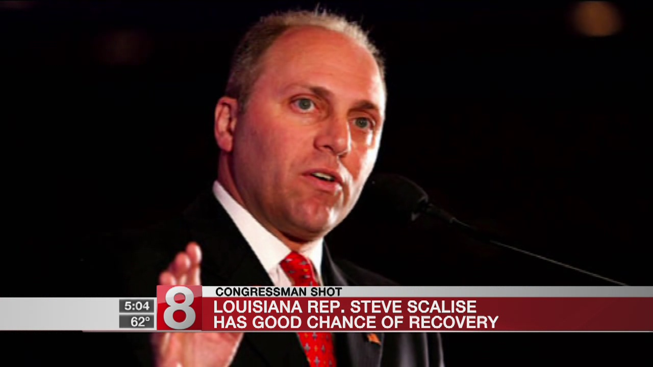 Hospital: Scalise still critical, 'has improved in the last 24 hours'