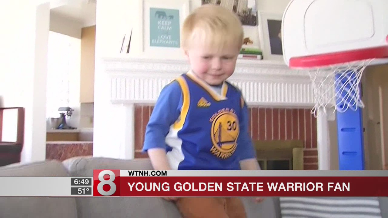 3-year-old-boy 'thinks he's Steph Curry,' mom says