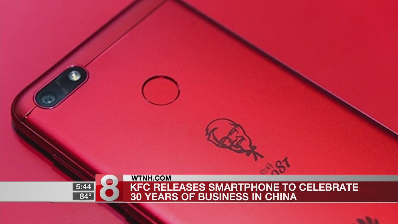KFC to sell custom smartphones